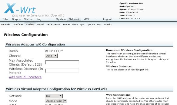 Two wireless networks with WRT54G and OpenWrt | 5!